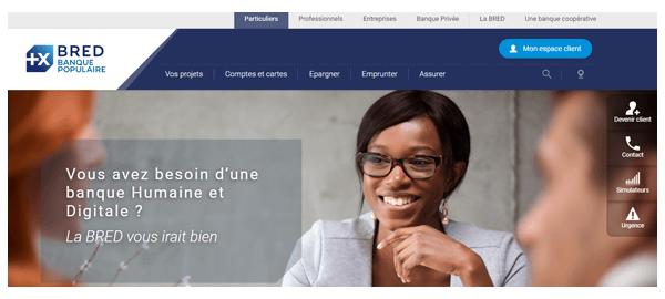www.bred.fr mon compte