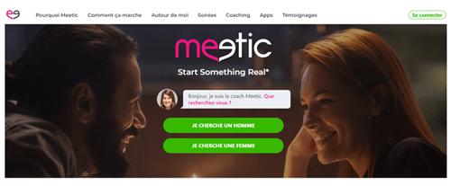 Ouvrir un compte sur meetic.fr