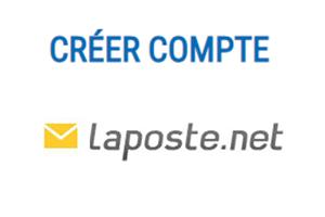 Créer une messagerie laposte.net