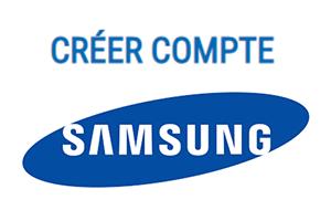 Comment créer un compte Samsung ?