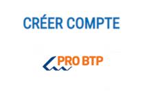 Créer compte pro btp
