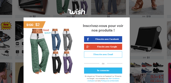 Wish site official
