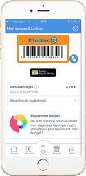 application mobile leclerc