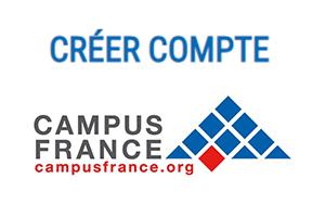 Création compte Campus France