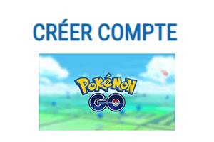 Création compte Pokemon Go
