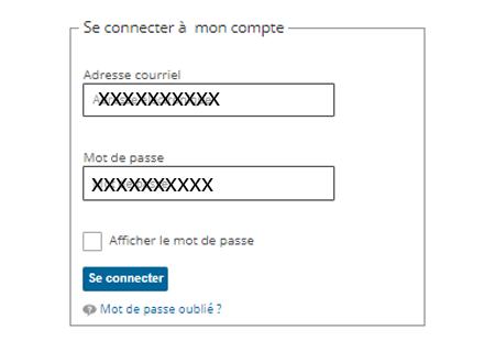 Se connecter à mon compte visa pour la France
