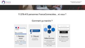 France Connect mon compte en ligne