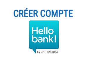 Créer un compte hello bank