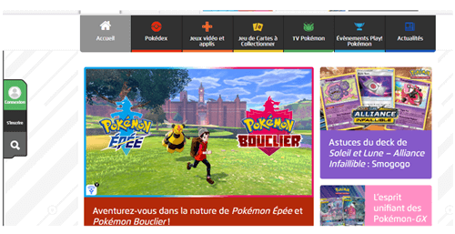 Site officiel Pokemon go