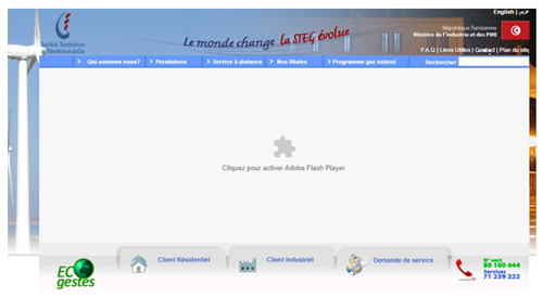 Steg inscription en ligne