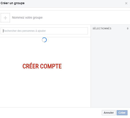 comment creer groupe discussion fcb