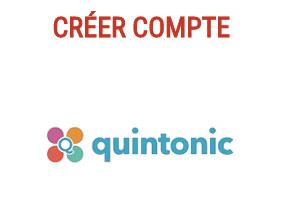 Créer un compte Quintonic