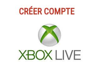 Créer un compte Xbox Live