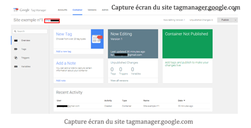 Comment installer google tag manager ?