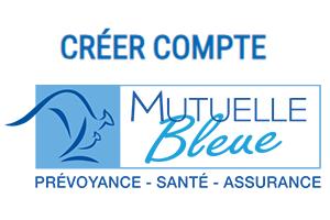 créer un compte mutuelle bleue