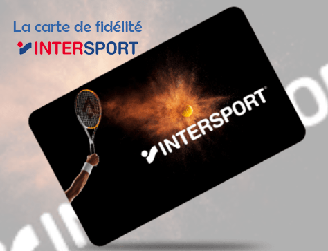 carte fidelite intersport