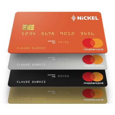 carte nickel chrome