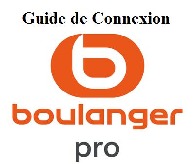 connexion à Boulanger.pro