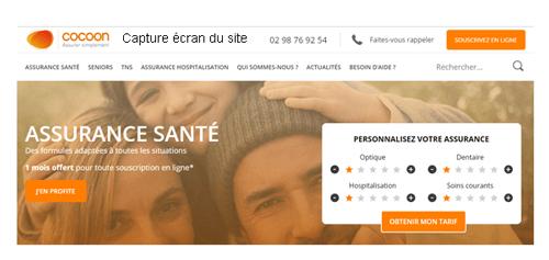S'inscrire sur cocoon.fr
