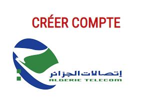 créer un compte espace client algérie télécom