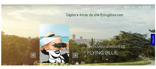 Flying Blue login