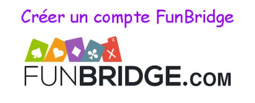 Créer un compte Funbridge