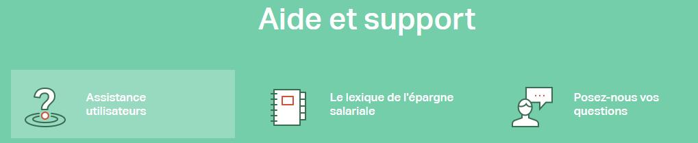 CIC Epargne Salariale Contact