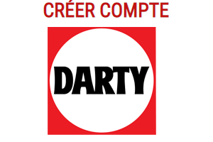 créer un compte Darty