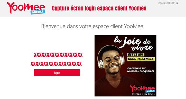 login espace client yoomee