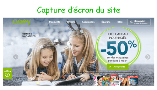 Banque oney.fr