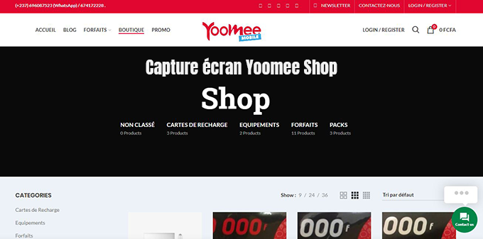 yoomee shop