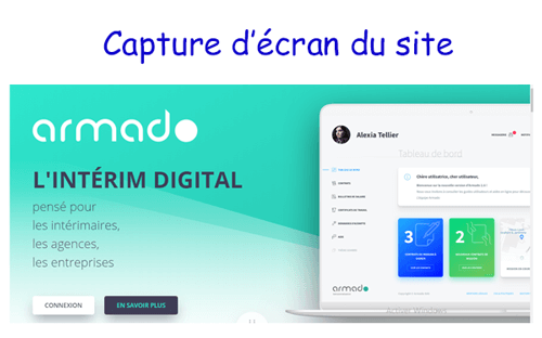 S'inscrire sur www.armado.fr mon compte