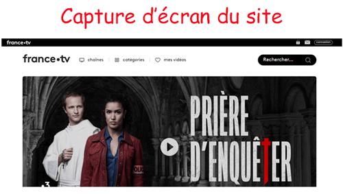 Créer un compte sur france.tv