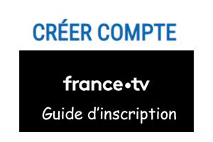 Créer un compte France télévision