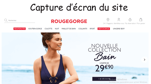 Consulter le site rougegorge.com