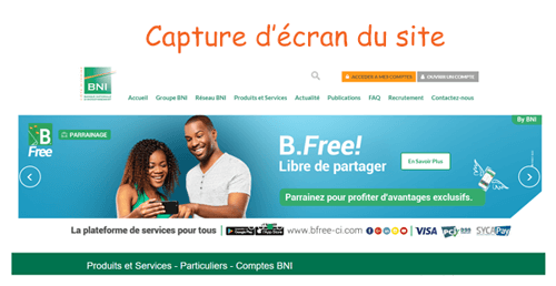 Consulter bni online