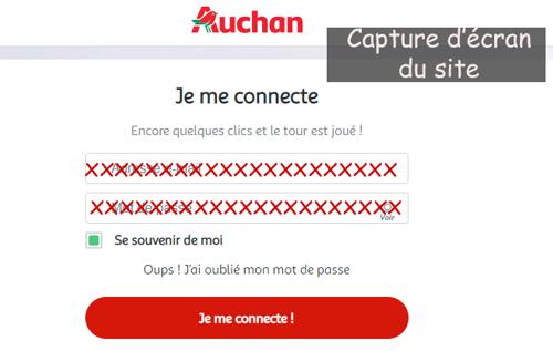 Créer une carte fidelité Waaoh Auchan
