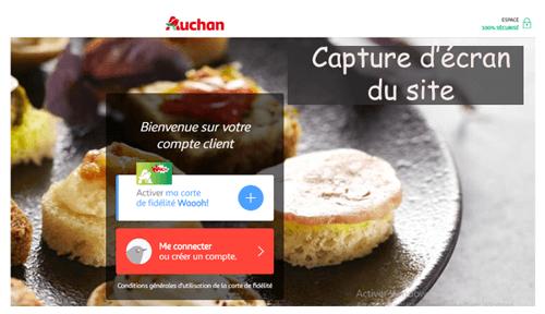 activer carte waaoh auchan Comment obtenir et activer la carte Waaoh sur .auchan.fr?