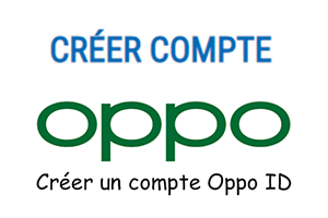 Création de compte id oppo