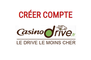 inscription compte casino drive
