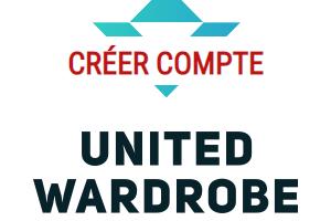 créer compte united wardrobe