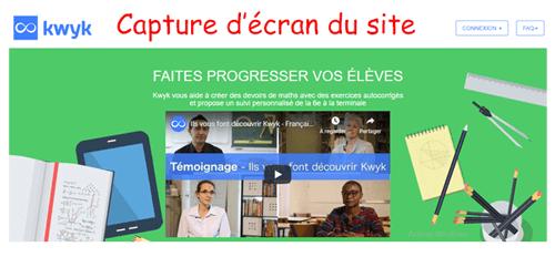 Kwyk.fr connexion
