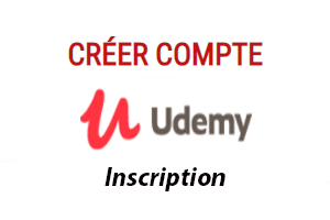 Udemy.com inscription