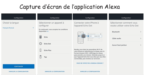 Comment configurer alexa en france