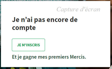 je m'inscris à merci mon thermomix