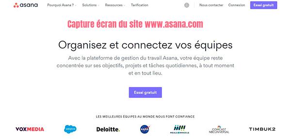 logiciel asana