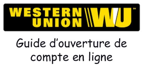 Ouvrir un compte western union