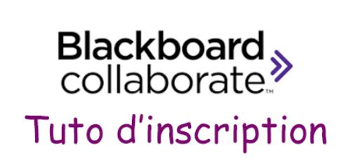 Créer un compte Blackboard Collaborate