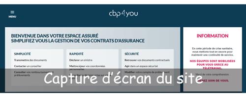 Se connecter à cbp4you.fr