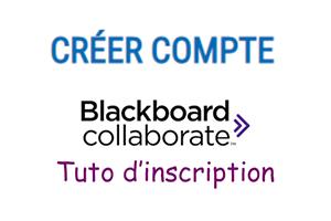 Inscription blackboard collaborate
